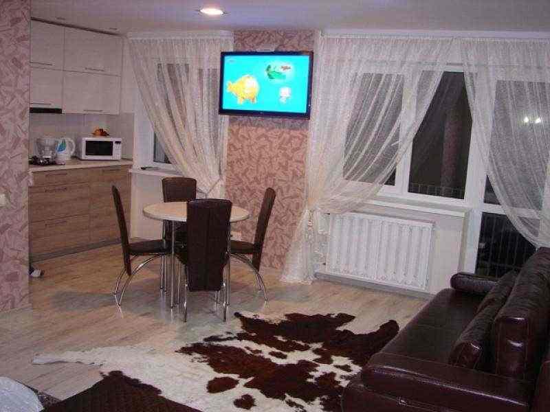 Комфортная современная 1-я квартира-студия ул.Ленина сутки недели (VIP класса). Фото