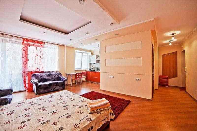 1-комнатная квартира студия в центре