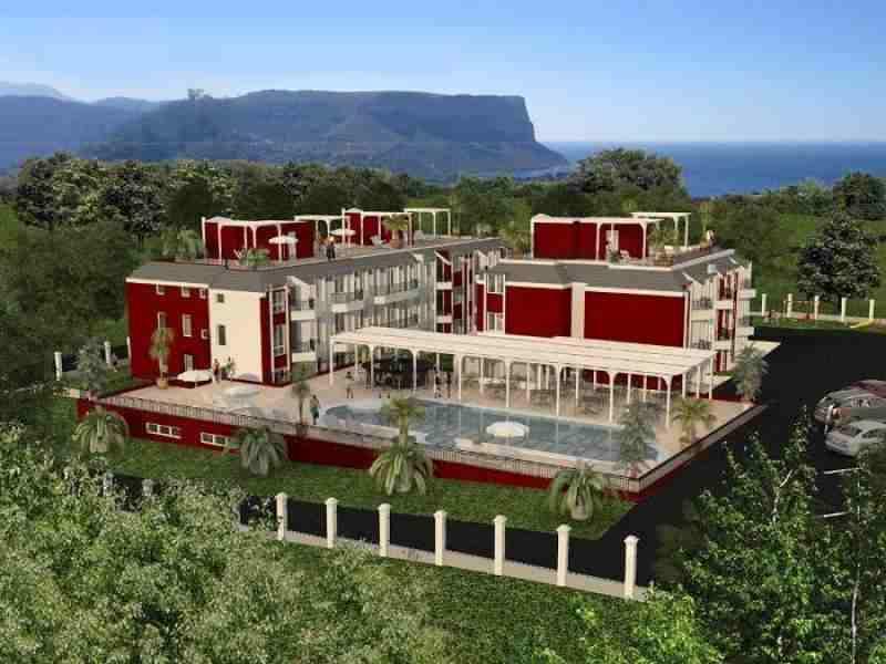 Строящийся жилой комплекс расположен в тихом жилом районе, недалеко от г. Балчик.. Фото