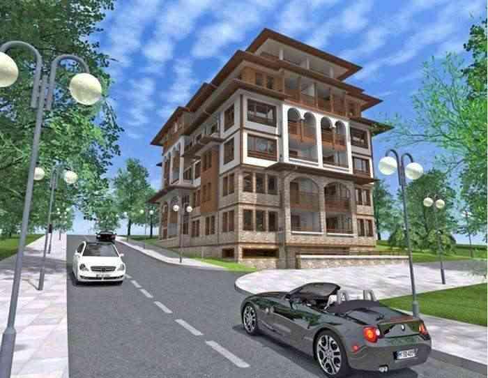 Строящийся жилой комплекс расположен в западной части г. Святой Влас.. Фото