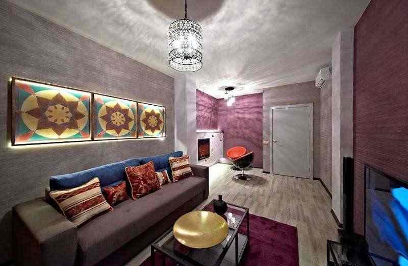 Дизайн апартаменты в центре! Джакузи для двоих! 2 км от Немиги. wi-fi.. Фото