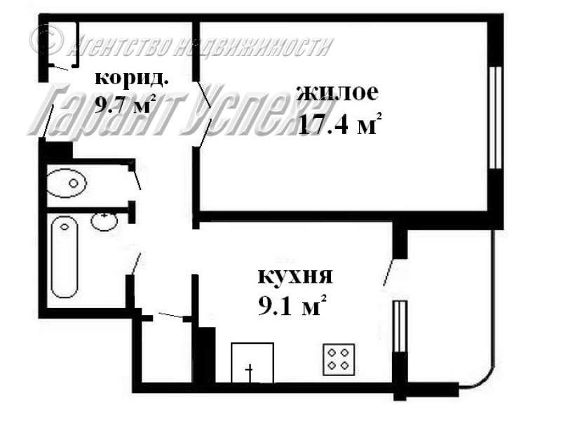 1-к квартира на Вульке, ул. Сябровская 10/10 этажного панельного дома 1993 года постройки. Фото