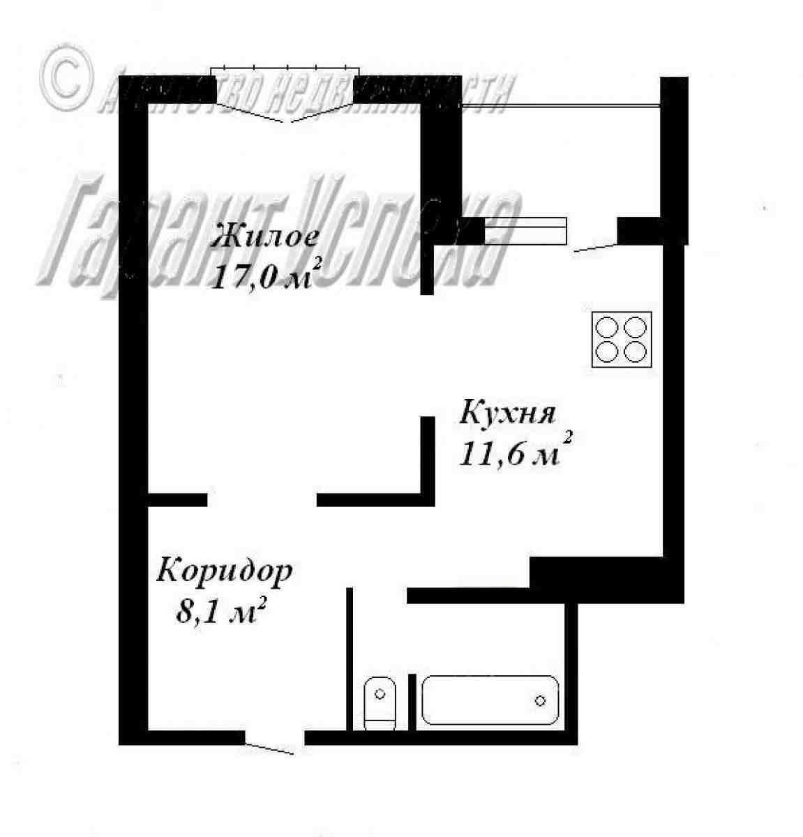 1-к квартира на Ковалево, ул. Суворова 10/10 этажного панельного дома 2007 года постройки. Фото