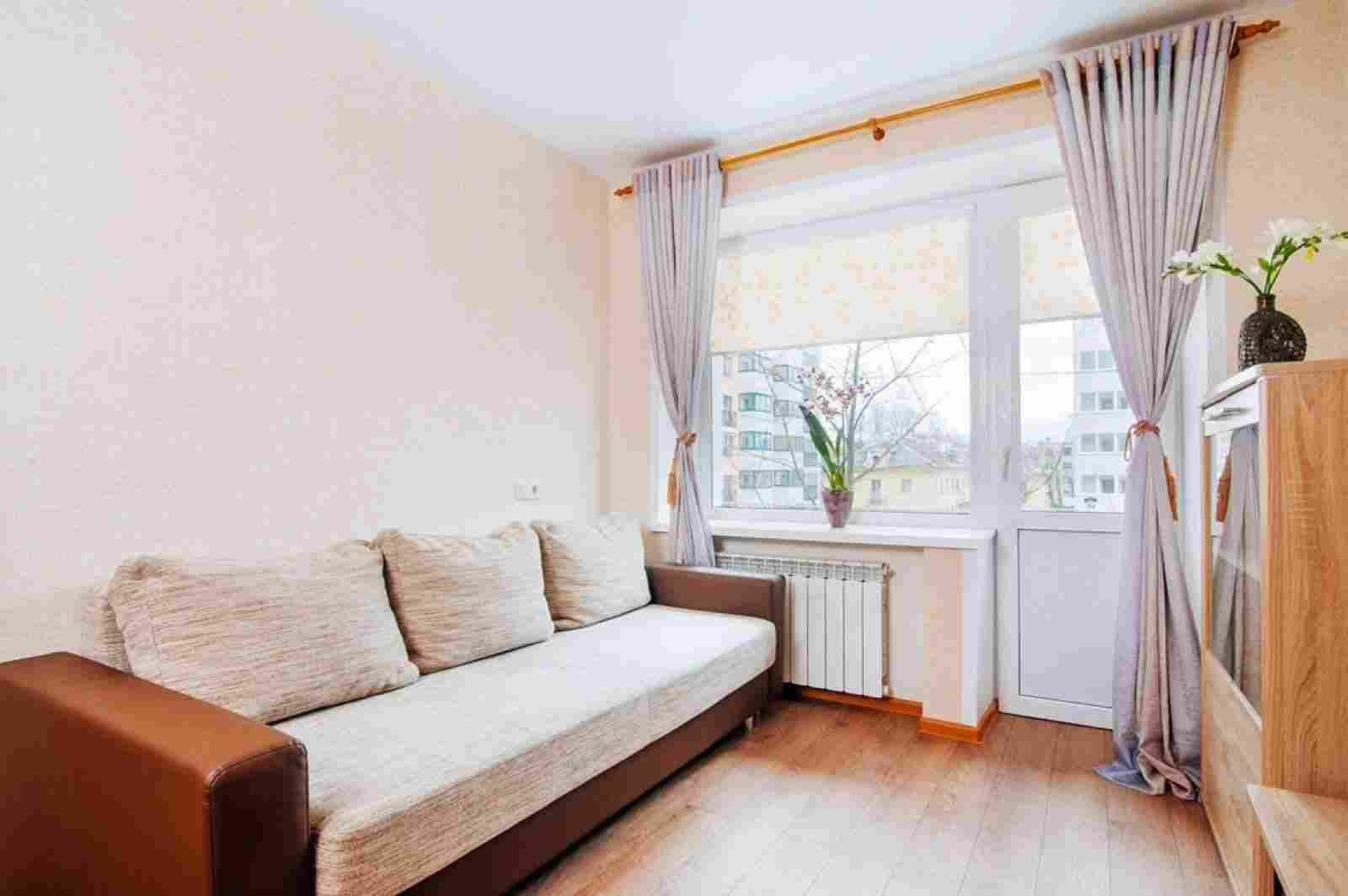 1-комнатная квартира в шаговой доступности от ст. м. Парк Челюскинцев. Фото