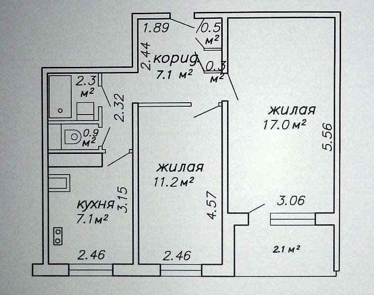 2-х комнатная квартира от собственника ст. м. Восток. Фото
