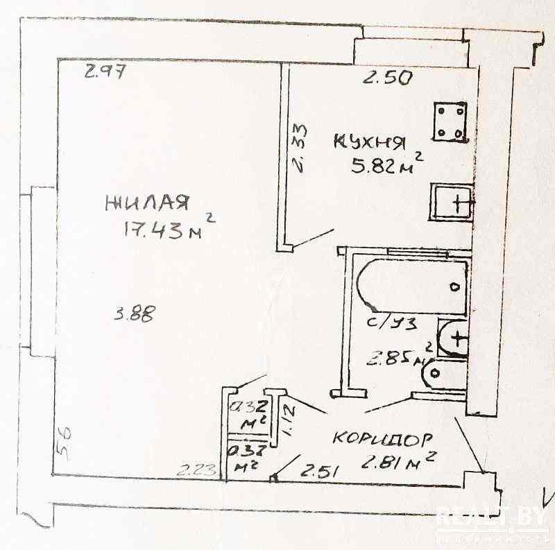 1-к. кв-ра, ул. Жилуновича, д. 29