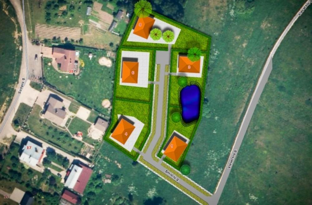 Продается участок 75.84 м2, Литва, Вильнюс