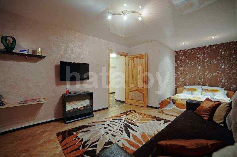 Просторная современная 1 - комнатная квартира бизнес класса в престижном доме. Немига. WI-FI. Рядом метро. Фото
