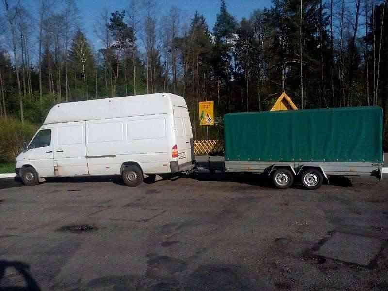 Грузоперевозки по Минску и РБ, Mercedes Sprinter Maxi Baza. Фото