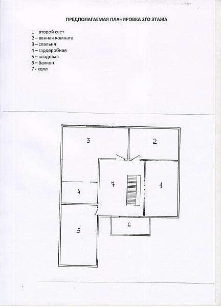 Строящийся 2хуровневый коттедж в д.Юхновка Минский р-он. Фото