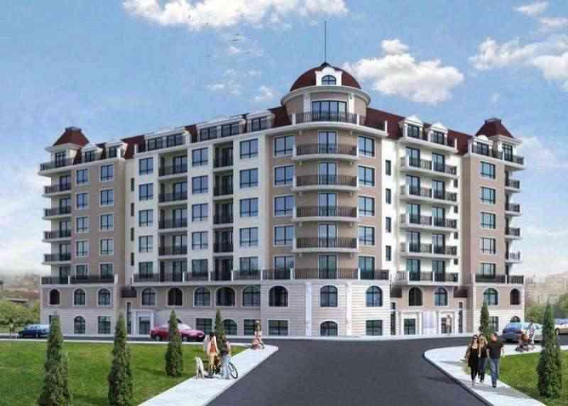 Строящийся жилой комплекс расположен в северо-западном районе г. Варна, «Возраждане».. Фото