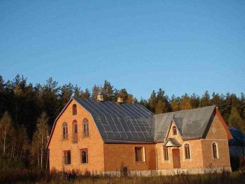 Усадьба - ДВА дома в Логойском районе, Олешники 48 км от МКАД Логойск