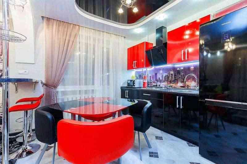 1-комнатная новая евроквартира-студия с отдельной спальней. Компаниям на вечеринки не сдаётся.. Фото