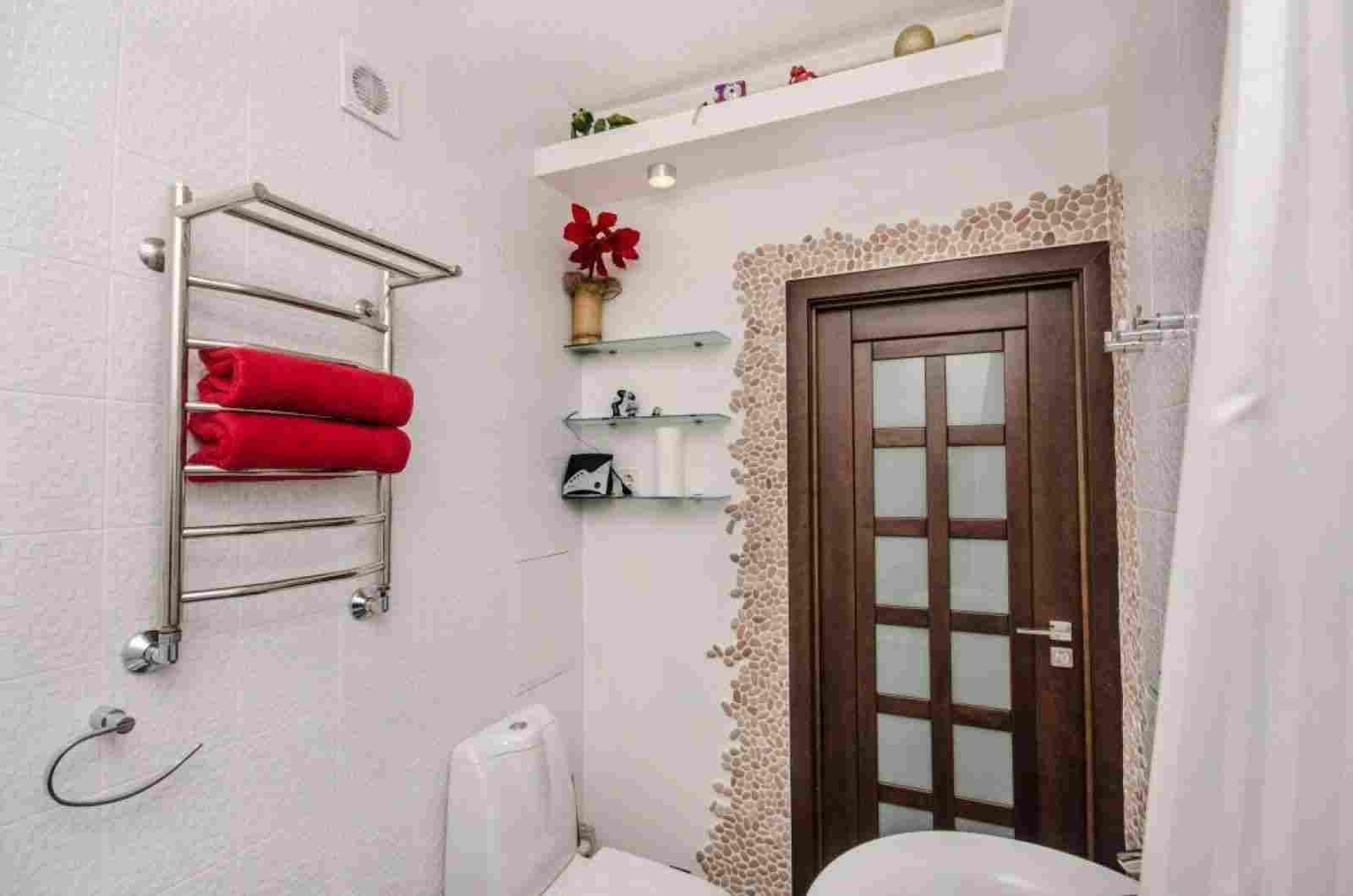 Квартира-студия с дизайнерским ремонтом в центре. Фото