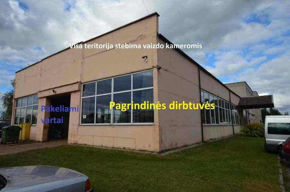 Продаются коммерческие помещения 2071.0 м2, Литва, Вильнюс