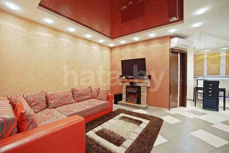 Посуточно дизайн апартаменты удачи № 77..  Большая джакузи 1.5 на 1.5 с неоновой подсветкой